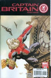 Captain Britain And MI13 #5 Monkey Variant (2008) Blade Marvel comic book